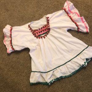 Chicwish Dresses - Pom Pom White Dress